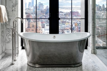 High-Rise Bathroom Trends